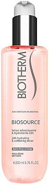 Sanfte Reinigungsmilch für trockene Haut - Biotherm Biosource Softening Toner Dry Skin — Bild N1