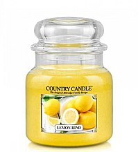 Düfte, Parfümerie und Kosmetik Duftkerze im Glas Lemond Rind - Country Candle Lemond Rind