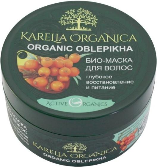 Tief regenerierende und nährende Bio Haarmaske mit Sanddorn - Fratti HB Karelia Organica — Bild N1