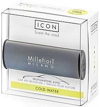 Düfte, Parfümerie und Kosmetik Auto-Lufterfrischer Cold Water - Millefiori Milano Icon Car Air Freshener Cold Water