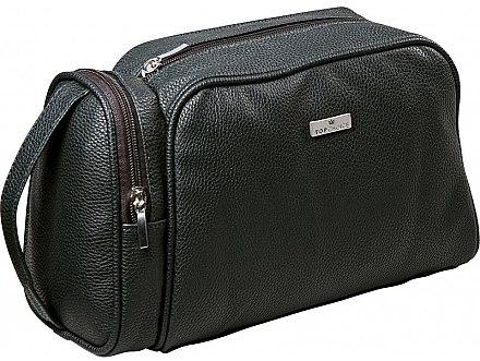 Kosmetiktasche für Herren Eco Premium 97881 schwarz - Top Choice — Bild N1