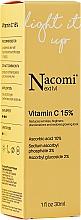 Düfte, Parfümerie und Kosmetik Aufhellendes Anti-Falten Gesichtsserum mit 15% Vitamin C - Nacomi Next Level Vitamin C 15%