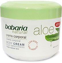 Düfte, Parfümerie und Kosmetik Feuchtigkeitsspendende Körpercreme mit Aloe Vera - Babaria Aloe Vera 20%
