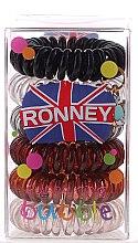Düfte, Parfümerie und Kosmetik Haargummis Farb-Mix 6 St. №11 - Ronney Professional Funny Ring Bubble 11