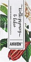 Düfte, Parfümerie und Kosmetik Haarmaske für hohe Porosität - Anwen Masks For Highly-Porous Hair Wheat Sprouts and Cocoa (Probe)