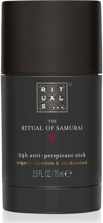 Deostick Antitranspirant mit Bambus und Sandelholz - Rituals The Ritual Of Samurai Classic Anti-Perspirant Stick — Bild N1