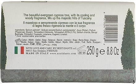 Naturseife Cypress - Nesti Dante Regenerating Soap Dei Colli Fiorentini Collection — Bild N2