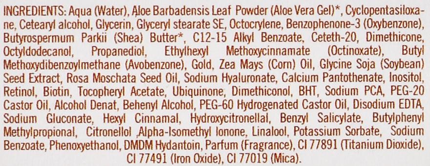 Revitalisierende und regenerierende Anti-Falten Gesichtscreme - Diet Esthetic Gold Cream SPF15 — Bild N5