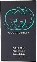 Düfte, Parfümerie und Kosmetik Gucci Guilty Black Pour Homme - Eau de Toilette (Probe)