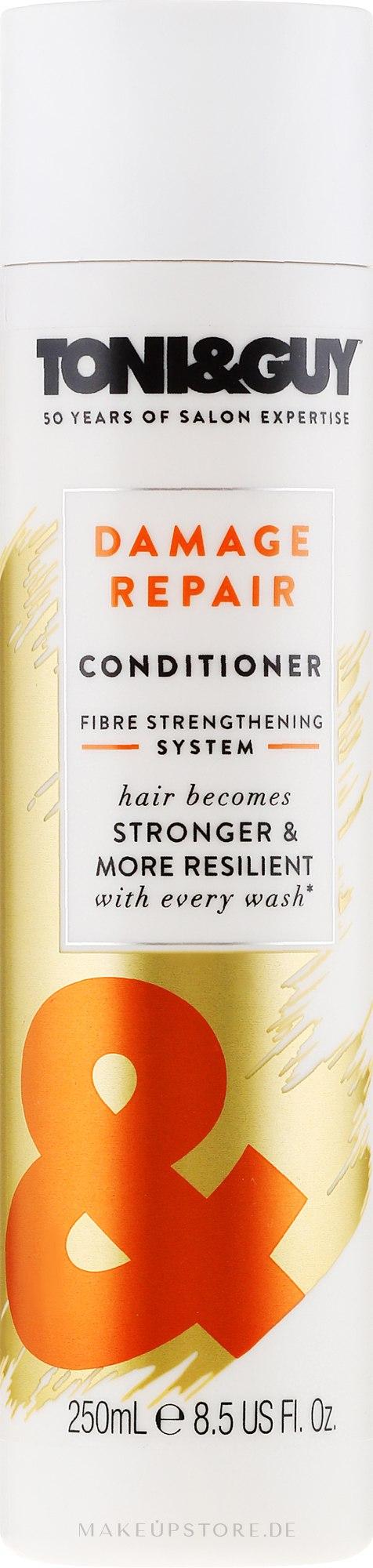 Haarspülung - Toni & Guy Nourish Contidioner For Damaged Hair — Bild 250 ml