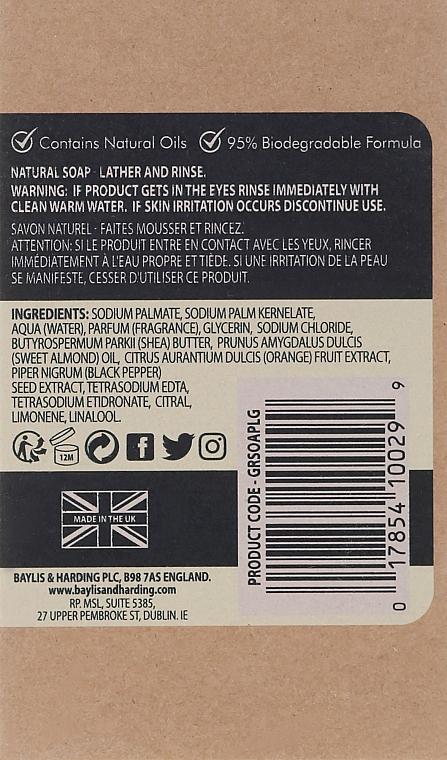 Naturseife Lemongrass & Ginger - Baylis & Harding Goodness Sea Lemongrass & Ginger Natutal Soap — Bild N3