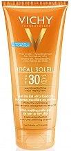 Düfte, Parfümerie und Kosmetik Mattierendes Sonnenschutzgel für Gesicht LSF 30 - Vichy Ideal Soleil Ultra-Melting Milk Gel SPF 30