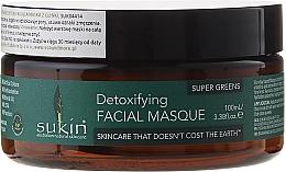 Düfte, Parfümerie und Kosmetik Gesichtsmaske mit Spirulina und Petersilie - Sukin Super Greens Detoxifying Clay Masque