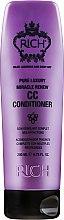Düfte, Parfümerie und Kosmetik Haarspülung für alle Haartypen mit Arganöl -, Trauben- und Algenextrakt - Rich Miracle Renew CC Conditioner