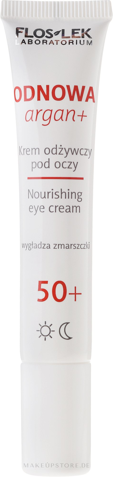 Augenkonturcreme - Floslek Nourishing eye cream 50+ — Bild 15 ml