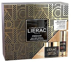 Düfte, Parfümerie und Kosmetik Gesichtspflegeset - Lierac Premium Voluptuous (Augencreme 15ml + Creme 50ml)