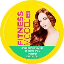 """Düfte, Parfümerie und Kosmetik Feuchtigkeitsspendende Haarmaske """"Doppelte Pflege"""" - Fito Kosmetik Fitness Model"""