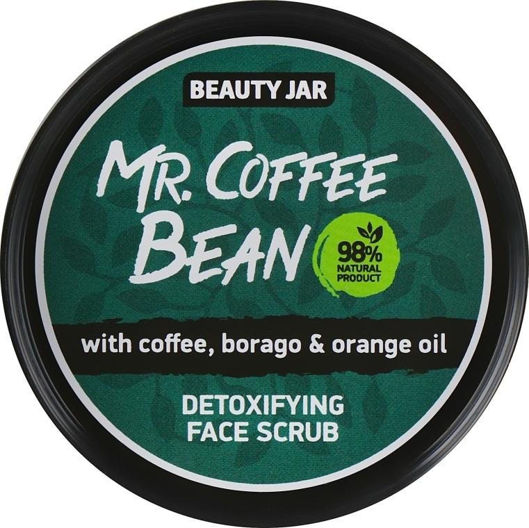 Detox Gesichtspeeling mit Kaffee, Borretsch und Orangeöl - Beauty Jar Detoxifying Face Scrub — Bild N1