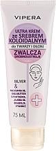 Düfte, Parfümerie und Kosmetik Schützende und feuchtigkeitsspendende Gesichts- und Handcreme mit kolloidalem Silber - Vipera Face And Hand Cream With Silver