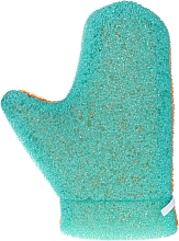 Düfte, Parfümerie und Kosmetik Massage-Handschuh Aqua 6021 grün-orange - Donegal Aqua Massage Glove