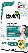 Düfte, Parfümerie und Kosmetik Feuchtigkeitsspendende Gesichtsmaske - Bioteq Moisturizing Cloth Mask