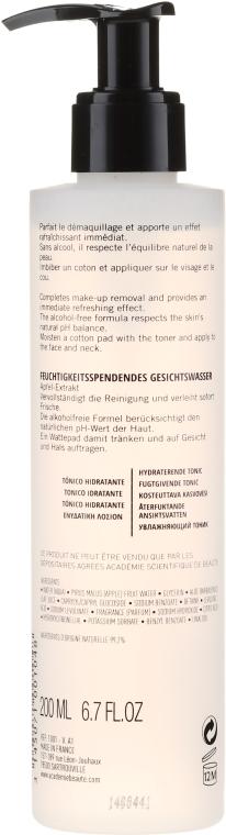 Feuchtigkeitsspendendes Gesichtstonikum für alle Hauttypen - Academie All Skin Types Moisturizing Toner — Bild N2