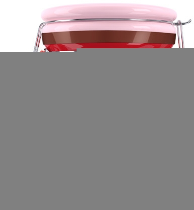 Salz-Körperpeeling mit Erdbeerduft - Delia Dairy Fun Body Scrub — Bild N1