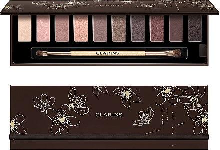 Lidschatten-Palette mit 10 Farben - Clarins The Essentials Palette Make Up 10 Eyeshadows — Bild N1