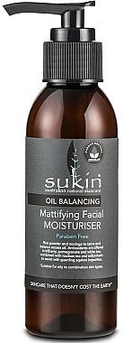 Feuchtigkeitsspendende und mattierende Gesichtsemulsion - Sukin Oil Balancing Mattifying Facial Moisturiser — Bild N1