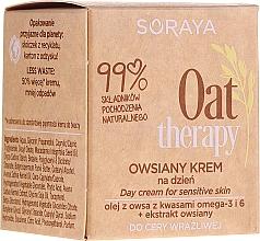 Tagescreme mit Haferextrakt für empfindliche Haut - Soraya Oat Therapy Day Cream — Bild N1