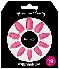 Düfte, Parfümerie und Kosmetik Set Künstliche Nägel mit Kleber 3053 - Donegal Express Your Beauty