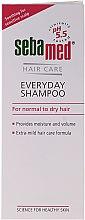Düfte, Parfümerie und Kosmetik Shampoo für die tägliche Haarwäsche - Sebamed Classic Everyday Shampoo
