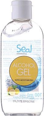 Antibakterielles feuchtigkeitsspendendes Handgel mit Zitronenduft - Seal Cosmetics Alcohol Gel Moisturizers — Bild N1