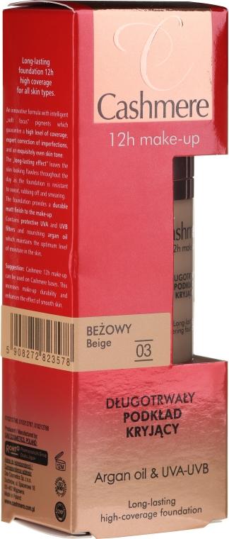 Langanhaltende Foundation mit Arganöl und hoher Deckkraft - Dax Cashmere 12h Make-up Long-lasting Covering Foundation — Bild N1