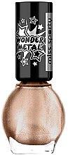 Düfte, Parfümerie und Kosmetik Nagellack - Miss Sporty Wonder Metal