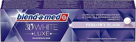 Zahnpasta 3D White Luxe Pearl Glow - Blend-a-med 3D White Pearl Glow — Bild N1