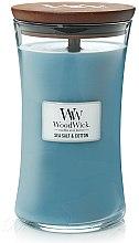 Düfte, Parfümerie und Kosmetik Duftkerze im Glas Sea Salt & Cotton - WoodWick Hourglass Candle Sea Salt & Cotton