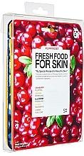 Düfte, Parfümerie und Kosmetik Gesichtspflegeset - Super Food For Skin Facial Sheet Mask Set (Tuchmasken für das Gesicht 5x25ml)
