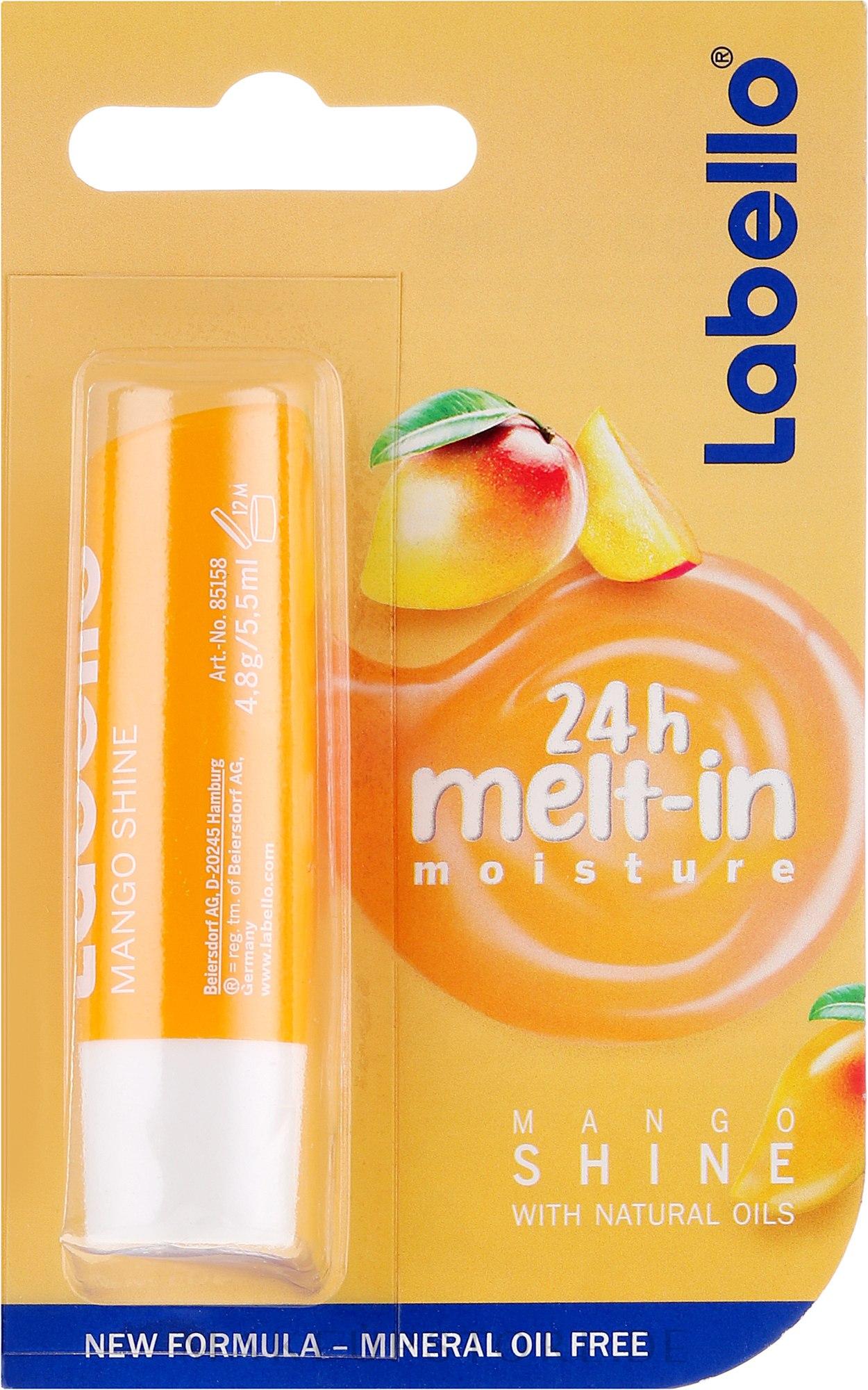 Lippenbalsam mit Mangogeschmack - Labello Mango Shine — Bild 5.5 ml