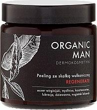 Regenerierendes Gesichtspeeling mit Vulkangestein für Männer - Organic Life Dermocosmetics Man — Bild N2