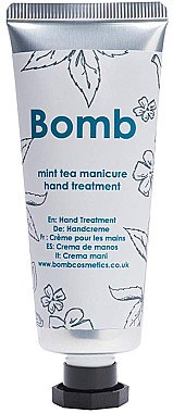 Handcreme Mint Tea - Bomb Cosmetics Mint Tea Manicure Hand Treatment — Bild N1