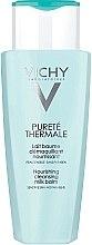 Düfte, Parfümerie und Kosmetik Nährende Gesichtsreinigungsmilch für empfindliche Haut - Vichy Purete Thermale Cleansing Milk Balm