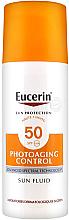 Düfte, Parfümerie und Kosmetik Anti-Aging Sonnenschutzfluid für das Gesicht SPF 50 - Eucerin Sun Protection Photoaging Control Sun Fluid SPF 50