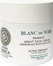 Regenerierende und feuchtigkeitsspendende Nachtcreme für mehr Ausstrahlung - Natura Siberica Copenhagen Blanc de Noirs Radiance Night Face Cream — Bild N1
