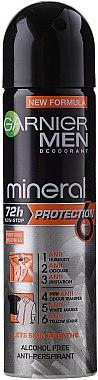 Deospray Antitranspirant - Garnier Mineral Men Deodorant Protection 5 — Bild N1