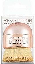 Make-up Pinsel - Makeup Revolution Oval Precision Kabuki Brush — Bild N2