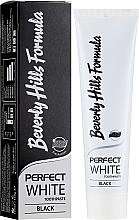 Düfte, Parfümerie und Kosmetik Zahnpasta mit Aktivkohle Perfect White Black - Beverly Hills Perfect White Black