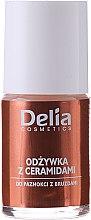 Düfte, Parfümerie und Kosmetik Nagelkonditionierer mit aktiven Ceramiden - Delia Cosmetics Active Ceramides Nail Conditioner