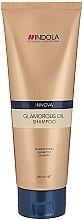 Düfte, Parfümerie und Kosmetik Glanz-Shampoo für alle Haartypen - Indola Innova Glamorous Oil Shampoo