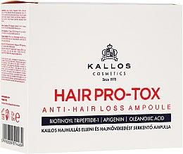 Düfte, Parfümerie und Kosmetik Haarserum in Ampullen gegen Haarausfall - Kallos Cosmetics